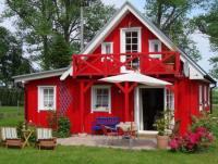 Romantisches Holzhaus für bis zu 6 Personen Nähe Darß
