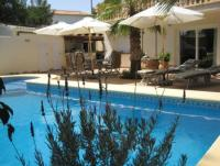Holiday-house apartment with heated Pool & Barbacoa, large terrace, 2-3 bedrooms and Climate