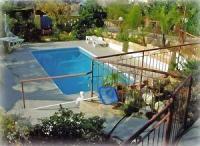 Ferienhaus nahe Limassol auf Zypern mit großer Veranda und Pool von Privat zu vermieten