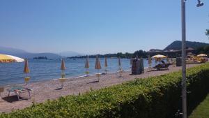 The beach 'Romantica', 450 m. far from the flat