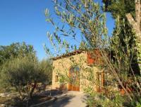 Ruhiges Naturstein-Ferienhaus am Lago di Bolsena. Alleinlage, Blick auf See und Toskana  2- 4 Pers.