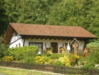 Ferienhaus in der Hessischen Rhön mit sonniger Terrasse, zwei Schlafzimmern für max. 4 Personen