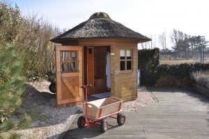 Gartenhaus mit Infrarot Sauna