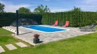 Ferienwohnung im Erdgeschoss mit 110 m² Wohnfläche, nur 1300 m vom Strand.