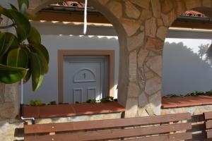 Eingang zur Wohnung 1