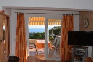 Terrasse der Wohnung 3