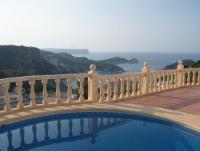 Spanische Villa mit traumhaftem Meerblick und mediterranem, großen Garten für bis zu 6 Personen