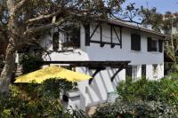 Villa in Hossegor mit Sonnenterrasse, Klimaanlage, 4 Schlafzimmern und 2 Bädern für 6 Personen.