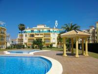 Ferienwohnung Penthouse mit Pool in gepflegter Anlage in Denia, Alicante an der Costa Blanca