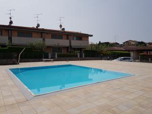 Swimming-pool, 7x8 meters, water h 1.30 m.