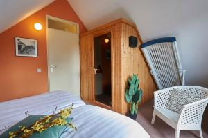 Orchis Wellness, 6P, Schlafzimmer mit Sauna