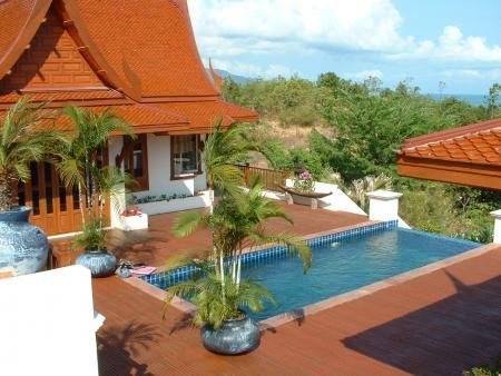 Ferienhaus auf Koh Samui in Thailand