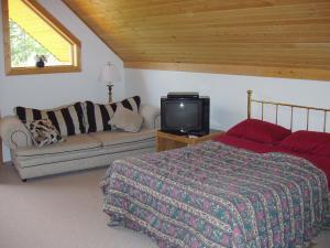 Blockhütte - Schlafzimmer