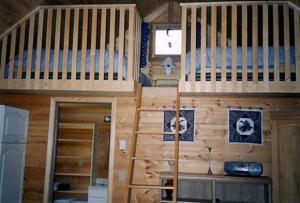 Chalet - Loft mit 2 Doppelbetten
