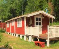 Kleines Ferienhaus zwischen Karlskrona an der Ostsee und Växjö zu vermieten, nur ca. 250 m zu 2 Seen