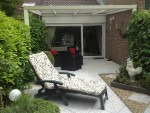 Terrasse vom Garten aus