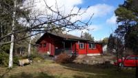 The holiday home on the Baltic Sea in Oskarshamn has 2 bedrooms and has capacity for 6 people