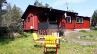 Das Ferienhaus an der Ostsee in Oskarshamn hat 2 Schlafzimmer und bietet Platz für 6 Personen