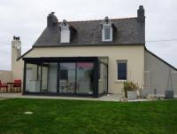 Bretagne: Ferienhaus zwischen Meer und Landschaft, nach Süden ausgerichtet, abseits der Hauptstraße