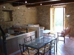 Küche im Appartement Frantoio