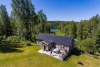 Privates Ferienhaus in exlusiver Lage am Östra Silen, ein Kanu und Angelsee Eldorado der Extraklasse